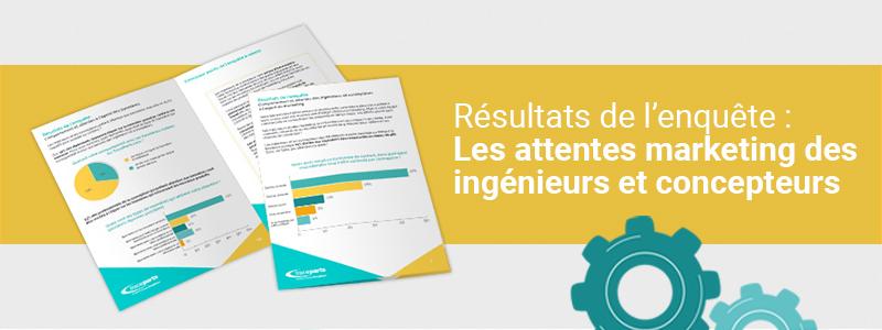 Une enquête menée par TraceParts aide les spécialistes du marketing industriel à mieux comprendre les besoins des ingénieurs et concepteurs