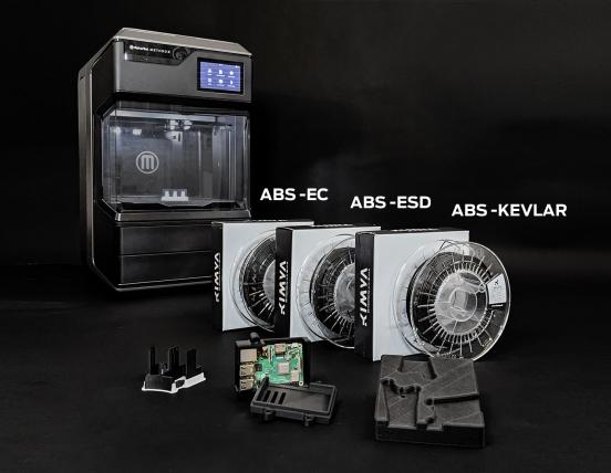 MakerBot offre trois nouveaux matériaux composites ABS de Kimya pour les imprimantes 3D METHOD