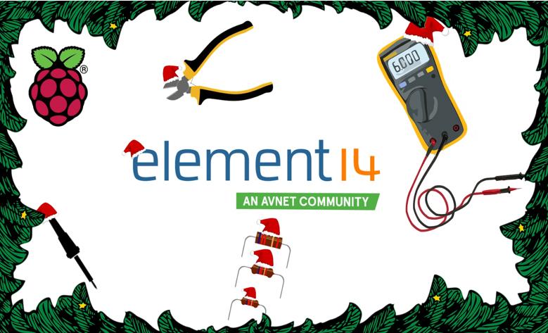 La communauté element14 vous propose des projets de vacances, des idées cadeaux et de remporter des prix