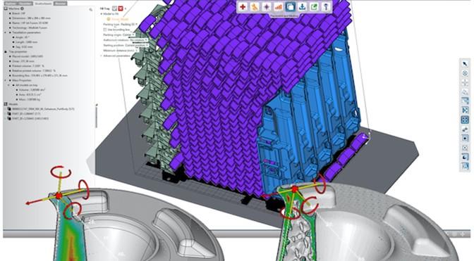 4D_Additive utilise l'intelligence artificielle pour l'imbrication des pièces en impression 3D