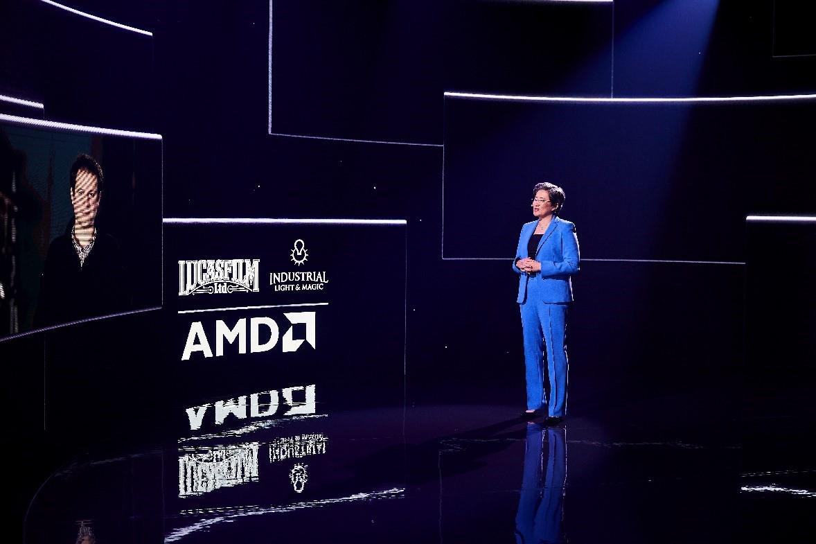Lisa Su, CEO d'AMD, fait la démonstration d'un monde de plus en plus numérique lors du CES 2021