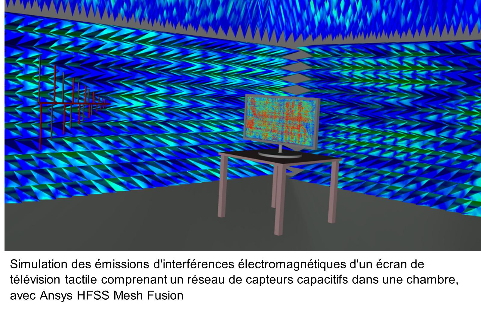 Ansys lance HFSS Mesh Fusion et réinvente le développement de produits en permettant la simulation de systèmes complets