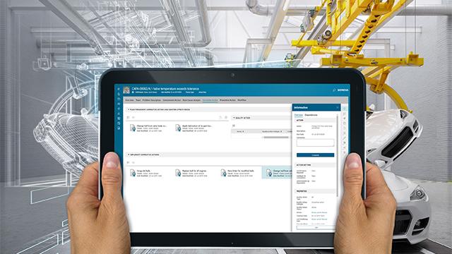 Siemens enrichit sa gamme Xcelerator d'un système de gestion de la qualité en entreprise (« EQMS »)