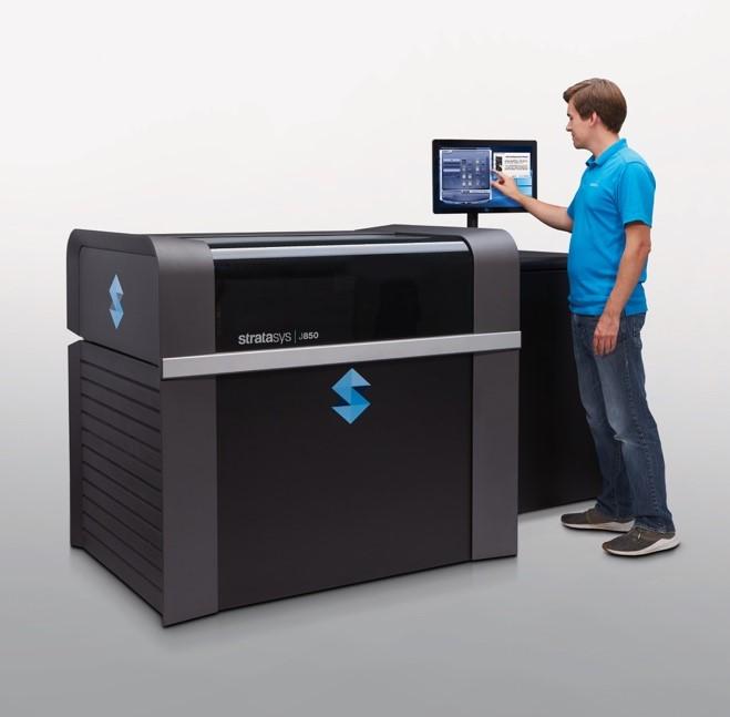 Stratasys présente l'imprimante 3d polyjet multi-matériaux de catégorie professionnelle pour les prototypes d'ingénierie