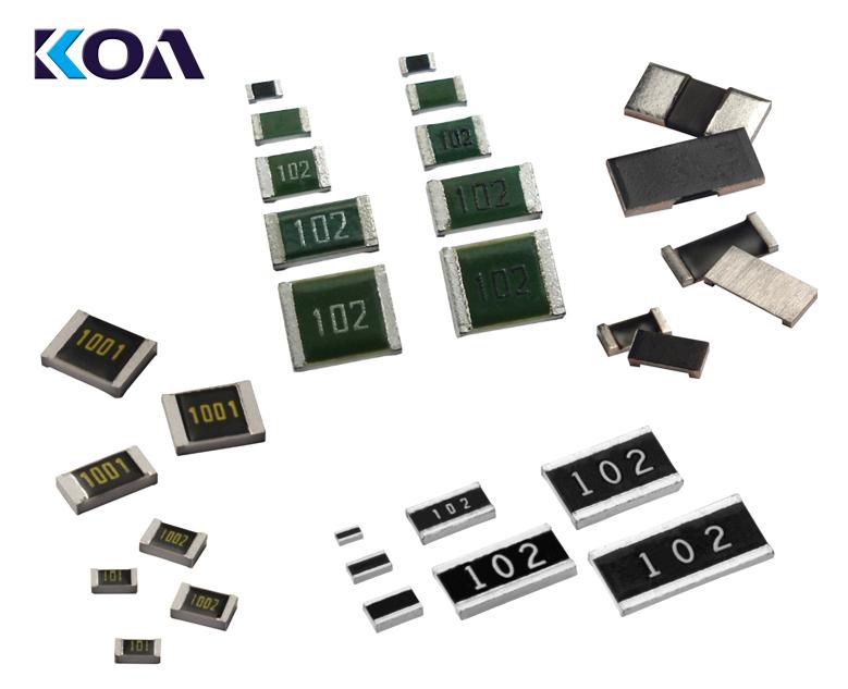 Farnell propose les composants passifs de haute qualité de KOA