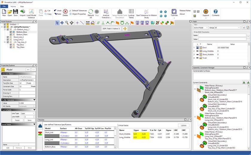 Enventive intègre la technologie de Datakit pour importer des données 3D