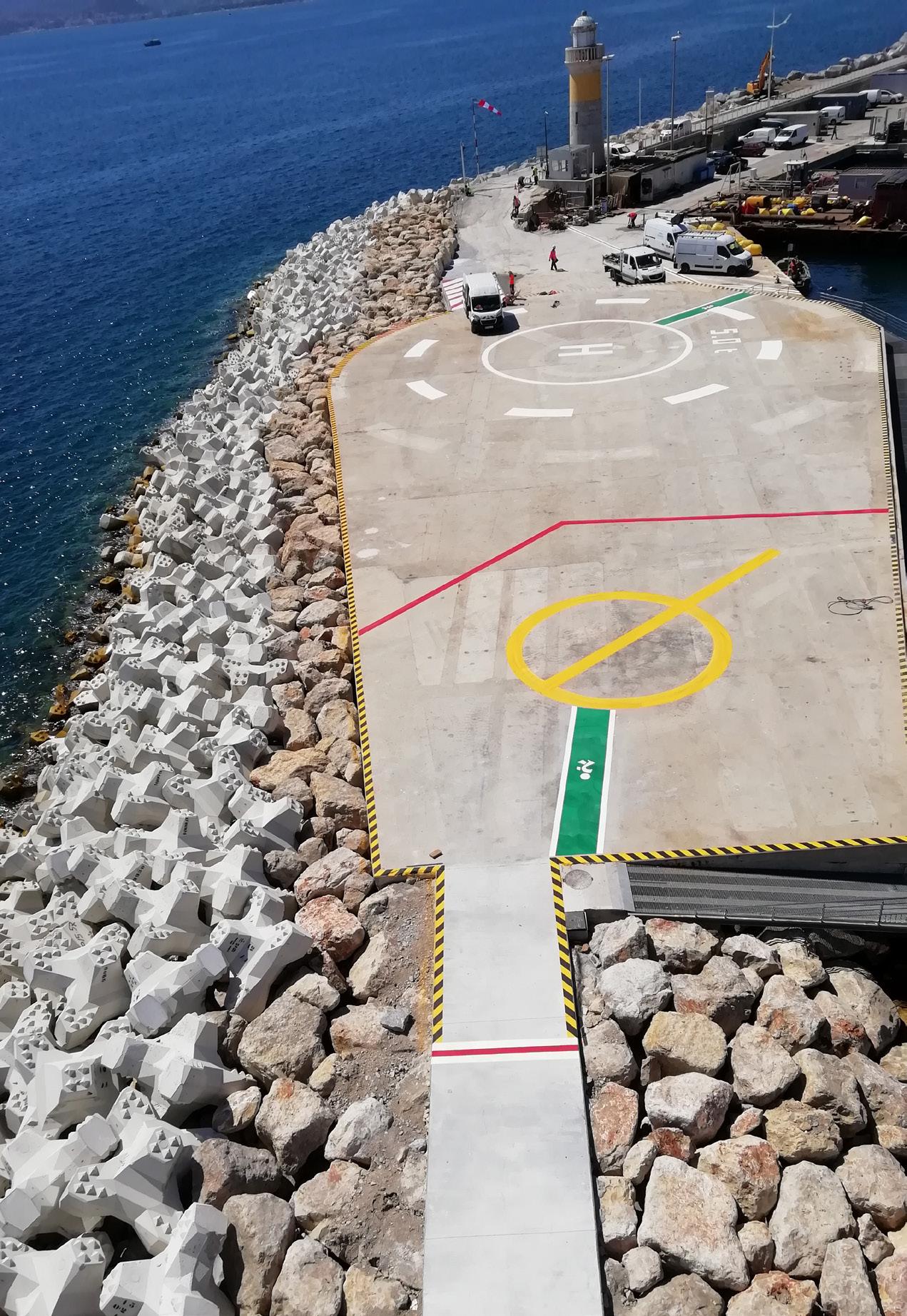 la technologie Leica Geosystems au service des travaux maritimes :