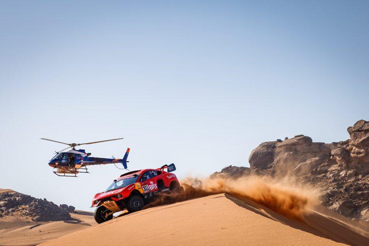 Prodrive imprime des pièces de voiture en 3D dans le désert avec la MakerBot METHOD X au Rallye Dakar 2021