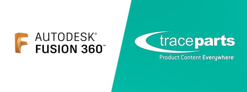 Autodesk Fusion 360 inclut désormais les catalogues d'ingénierie de TraceParts