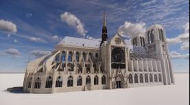 Les technologies numériques au service de la restauration de la cathédrale Notre-Dame de Paris