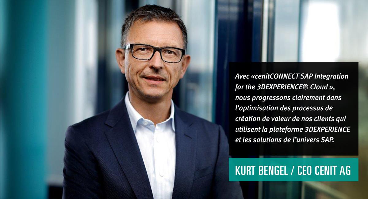 CENIT propose l'intégration combinée de la plateforme SAP et de la  plateforme 3DEXPERIENCE dans le Cloud