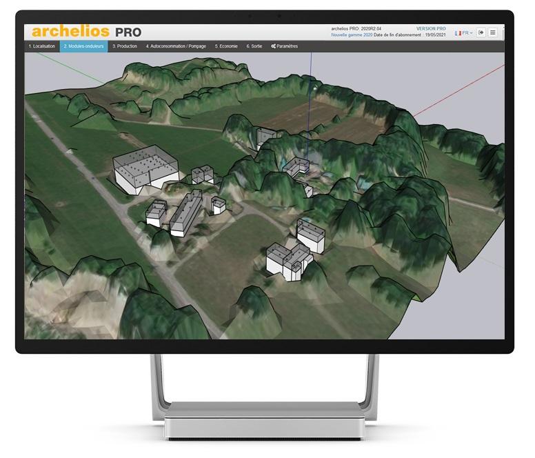 Application PV archelios™ Pro : Trace Software pousse encore plus loin la conception photovoltaïque