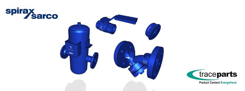 Spirax Sarco leader mondial de la technologie de la vapeur permet à ses clients OEM de bénéficier des données techniques de ses produits grâce à la publication de ses modèles CAO