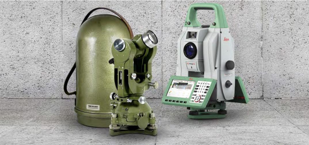 Leica Geosystems célèbre 100 ans d'innovation