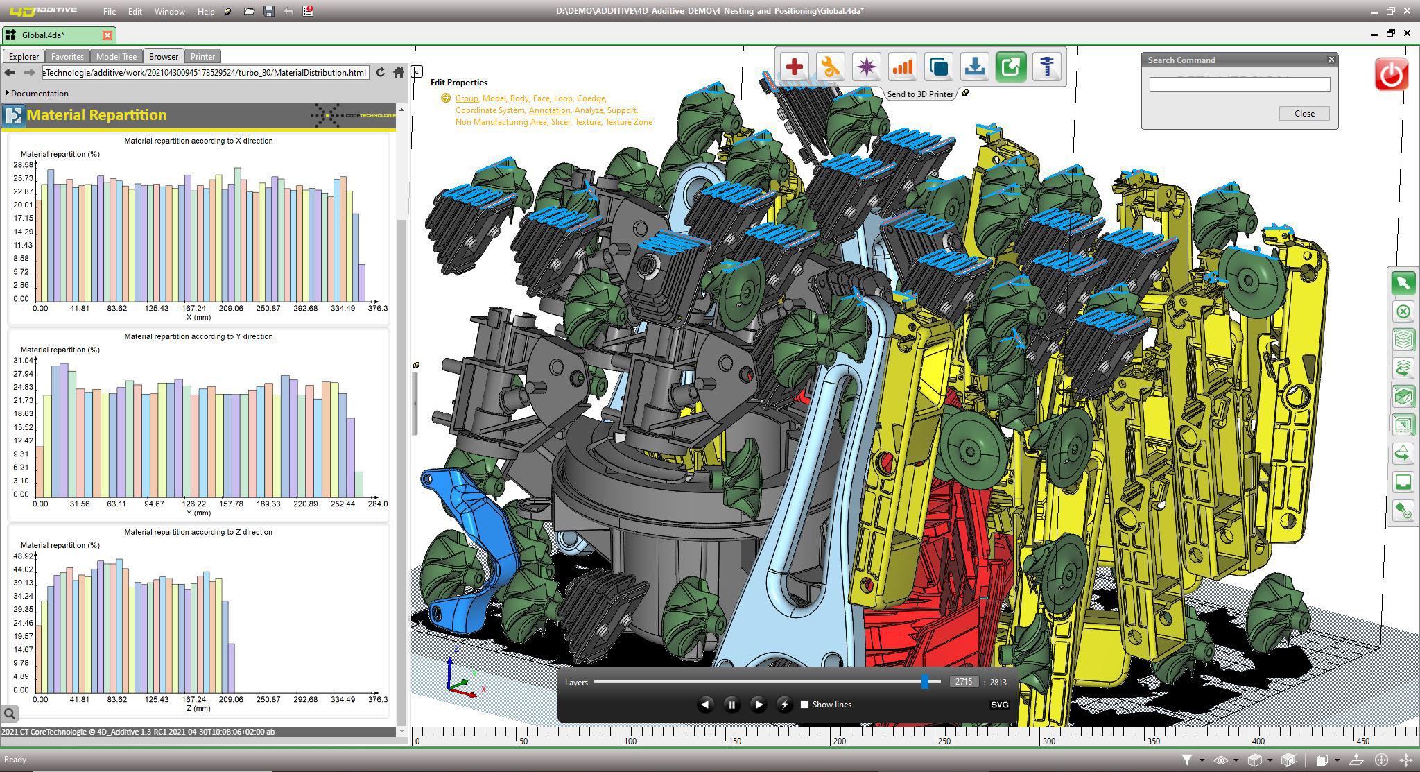 Les nouveautés de la version 1.3 de 4D_Additive, le logiciel universel pour l'impression 3D
