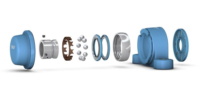 RS Components triple l'étendue de son offre de roulements de SKF