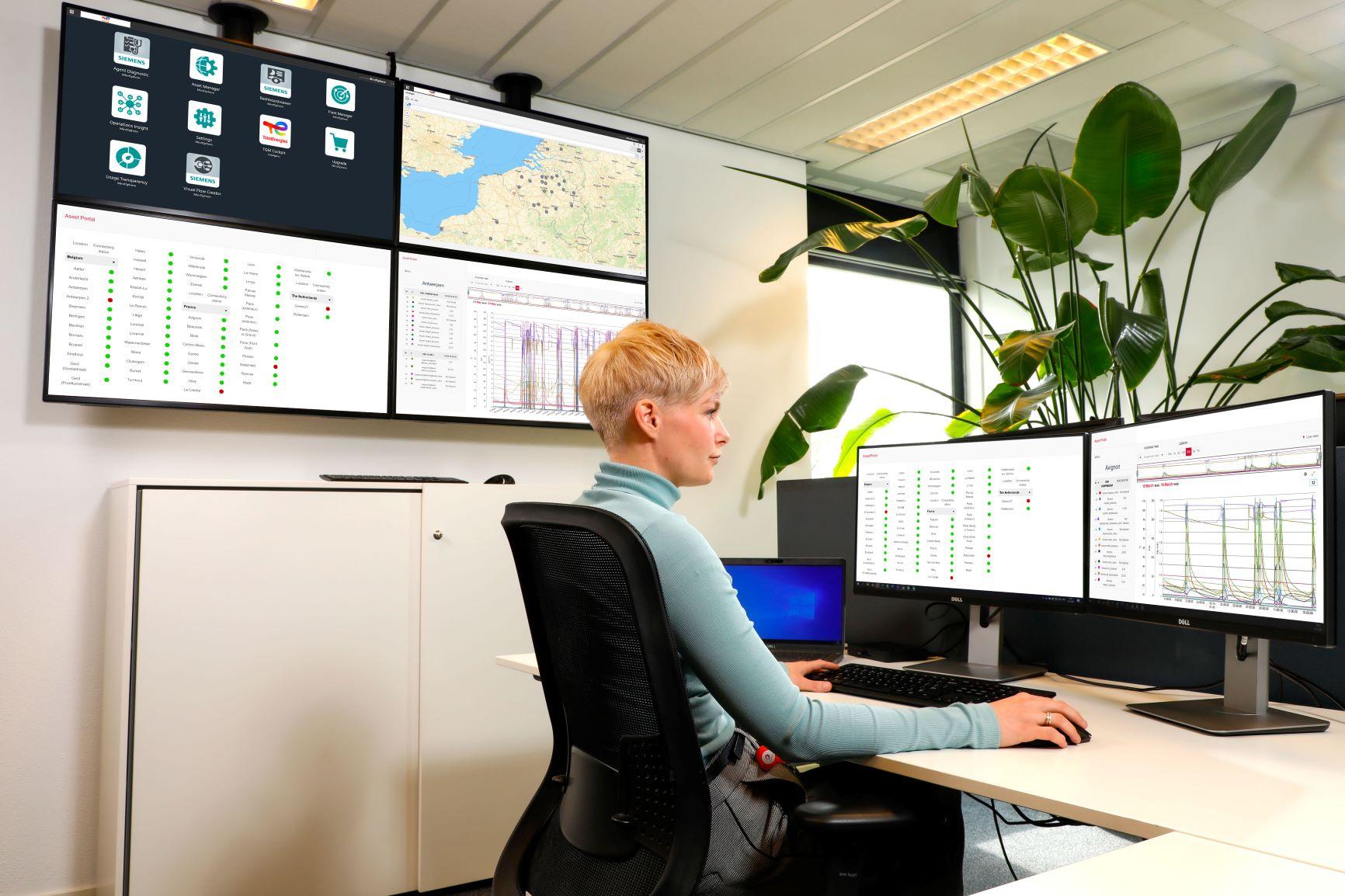 La plateforme IoT MindSphere de Siemens a été choisie par TotalEnergies pour surveiller ses stations GNV