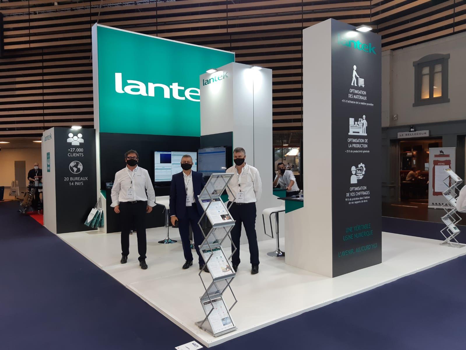 Lantek présentera la version 2021 de ses solutions logicielles et les évolutions pour les usines connectées au salon Global Industrie