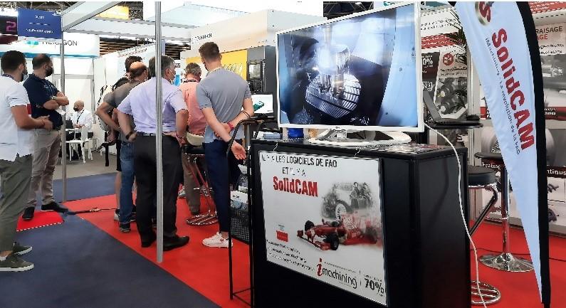 L'entreprise SolidCAM était présente au salon Global Industrie 2021