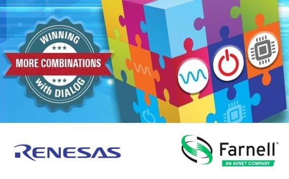 Le portefeuille de semiconducteurs de Farnell est renforcé par l'acquisition de Dialog par Renesas