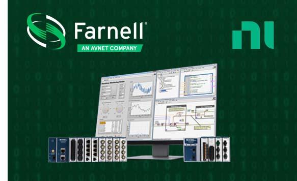 Farnell lance de nouvelles solutions « capteurs-logiciels » avec NI et Omega