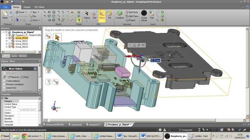 Rs Components Démocratise La Conception 3D En Lançant Designspark