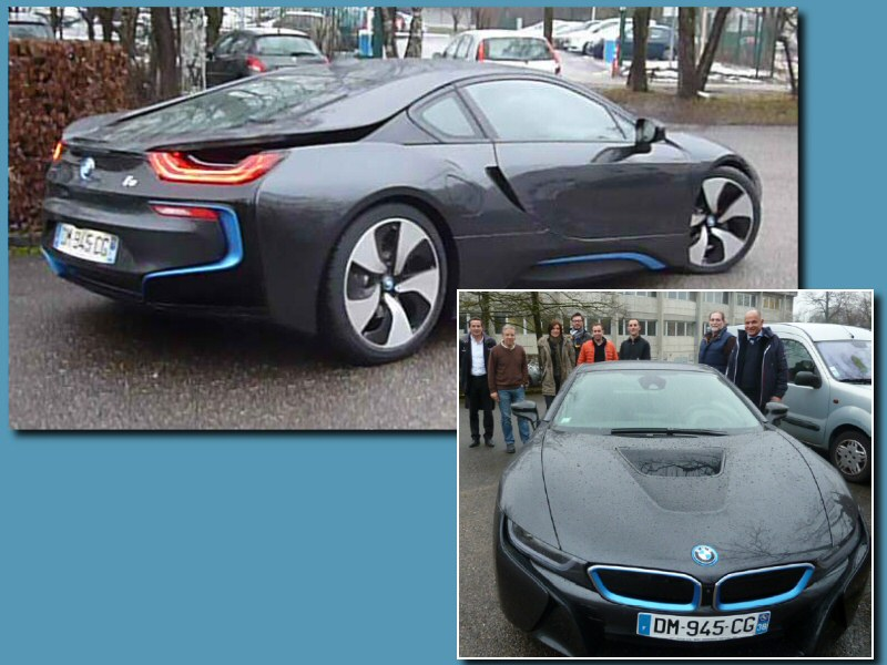 actualit s cao cedrat a accueilli royal sa et la bmw i8 dans ses locaux. Black Bedroom Furniture Sets. Home Design Ideas
