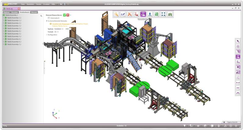3D_Evolution Simplifier facilite le traitement de grands